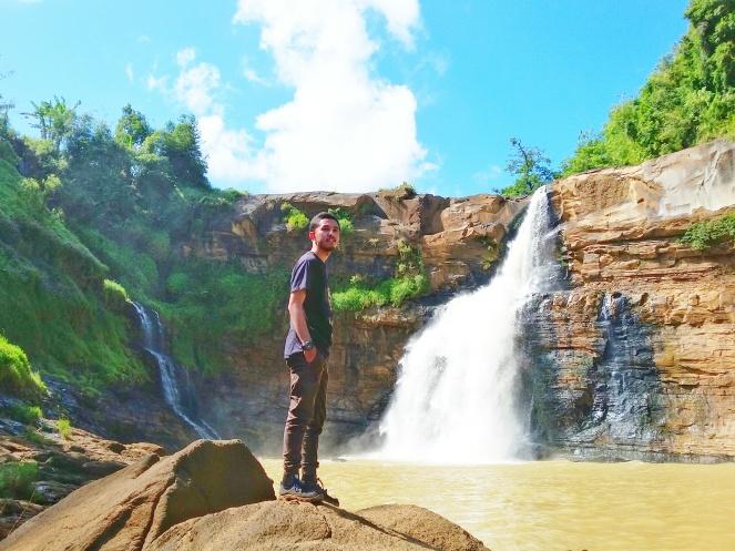 Curug Tengah Ciletuh Geopark Sukabumi