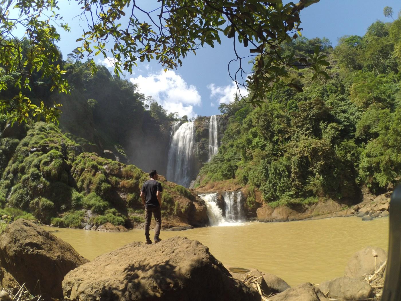 Curug Puncak Manik Ciletuh Geopark Sukabumi (Air Terjun Tertinggi